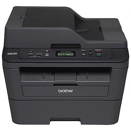 brother wireless monochrome laser printer copier scanner dcp l2540dw by office depot officemax. Black Bedroom Furniture Sets. Home Design Ideas