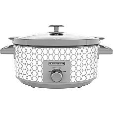 Black Decker 8 Quart Slow Cooker