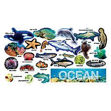 Scholastic Ocean Plants Animals Mini Bulletin