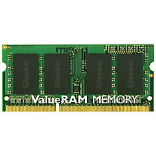 Kingston 8GB 1600MHz DDR3L Non ECC