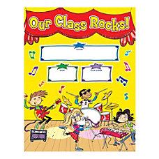 Scholastic School Rocks Welcome Chart