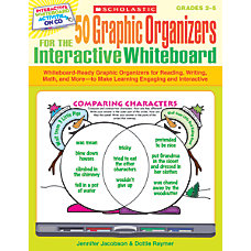 Scholastic 50 Graphic Organizers For The
