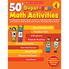 Scholastic 50 Super Fun Math Activities
