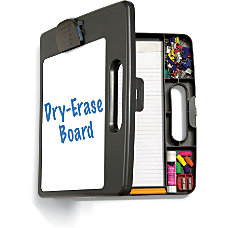 OIC Portable Dry Erase Clipboard Box