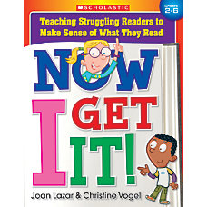 Scholastic Now I Get It Teaching