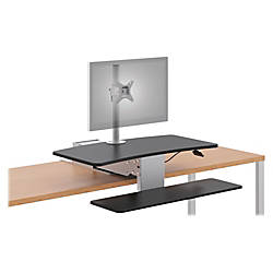 HON Directional Desktop Sit to Stand