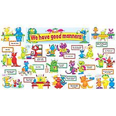 Scholastic Good Manners Monsters Mini Bulletin