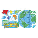 Scholastic Our Earth Puzzle Bulletin Board