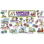 Scholastic Unplug Yourself Mini Bulletin Board