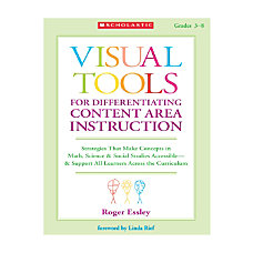 Scholastic Visual Tools For Differentiating Content