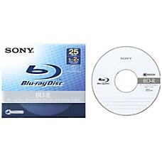 Sony BNR25A 6x BD R Media
