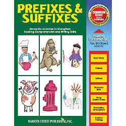Barker Creek Grammar Activity Book PrefixesSuffixes