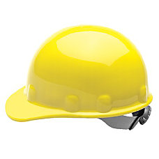 THERMOPLASTIC SUPERLECTRIC YELLOW HARD CAP E2RW