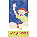 Mead Wrist Reminders Pack Of 30