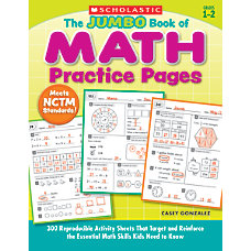Scholastic The Jumbo Book Of Math