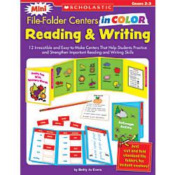 Scholastic Mini File Folder Centers In