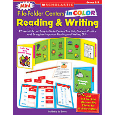 Scholastic Mini File Folder Centers In