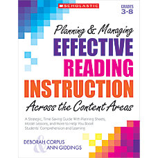 Scholastic Planning Managing Effective Reading Instruction