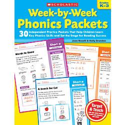 Scholastic Week By Week Phonics Packets
