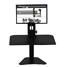 Victor High Rise Sit Stand Desk