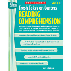 Scholastic Fresh Takes On Centers Reading