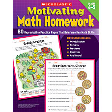 Scholastic Motivating Math Homework