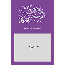 Photo Greeting Card Vertical Joyful Tidings