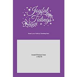 Photo Greeting Card Vertical Joyful Tidings