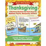 Scholastic Read Write Booklets Thanksgiving