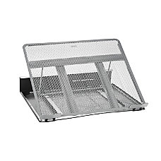 Rolodex Mesh Workspace Laptop Stand BlackSilver