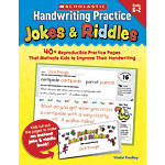 Scholastic Handwriting Practice Jokes Riddles