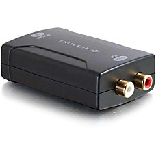 C2G Toslink to RCA Analog Audio