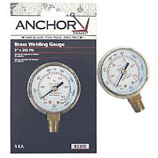 ANCHOR 2X400 BRASS REPLACEMENT GAUGE