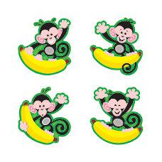 TREND Monkeys And Bananas Mini Bulletin
