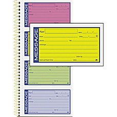 Adams Phone Message Book 200 Sheets