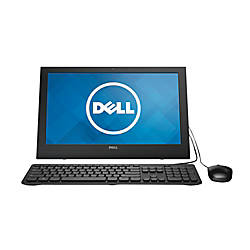 Dell™ Inspiron 3043 All-In-One Desktop Computer With Intel® Celeron® N2830 Processor, i3043-1250BLK
