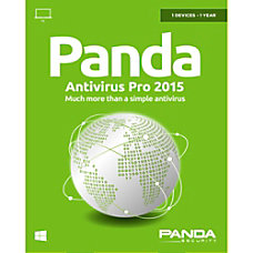 Panda Security Antivirus Pro 2015 1