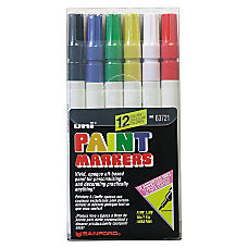 Uni Paint Markers Fine Point Assorted