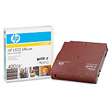 HP LTO Ultrium x 2 400