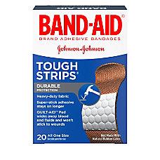 Band Aid Brand Flexible Fabric Tough