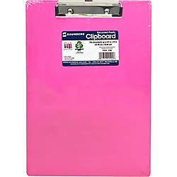 Saunders Neon Plastic Clipboards 050 Clip