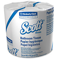Scott 45percent Recycled Embossed 2 Ply