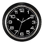 Realspace Round Quartz Wall Clock With