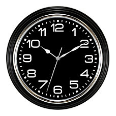 MZ Berger Round Quartz Wall Clock
