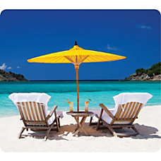 Fellowes Recycled Mouse Pad Caribbean Beach