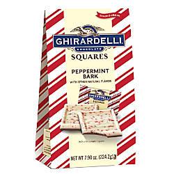 Ghirardelli Peppermint Bark Squares 79 Oz