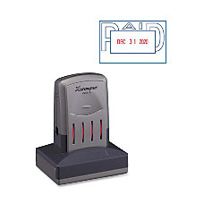 Xstamper VersaDater Paid Stamp
