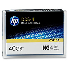 HP DDS 4 Data Cartridge 40GB