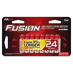 Rayovac Fusion Alkaline AA Batteries AA