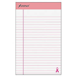 Ampad Esselte Breast Cancer Awareness Writing